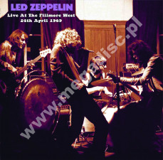 LED ZEPPELIN - Live At The Fillmore West, 24th April 1969 - EU Verne Limited Press - POSŁUCHAJ