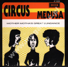 CIRCUS - Medusa / Mother Motha's Great Sundance - Singiel 7 - NL Pseudonym Press - POSŁUCHAJ