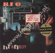 REO SPEEDWAGON - Hi Infidelity - EU 1st Press - POSŁUCHAJ