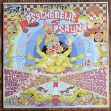 VARIOUS ARTISTS - A Psychedelic Psauna (In Four Parts) (2LP) - UK 1st Press - POSŁUCHAJ