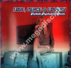 VARIOUS ARTISTS - Love, Peace & Poetry - Turkish Psychedelic Music - GER Press - POSŁUCHAJ