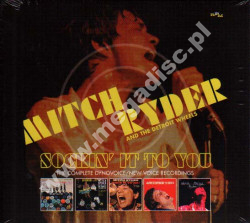 MITCH RYDER AND THE DETROIT WHEELS - Sockin' It To You - Complete Dynovoice/New Voice Recordings (3CD) - UK RPM Edition - POSŁUCHAJ