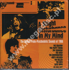 VARIOUS ARTISTS - A Slight Disturbance In My Mind: British Proto-Psychedelic Sounds Of 1966 (3CD) - UK Grapefruit Edition