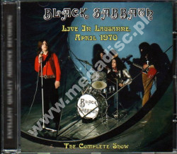 BLACK SABBATH - Live In Lausanne April 1970 - The Complete Show - SPA Top Gear Limited - POSŁUCHAJ - VERY RARE