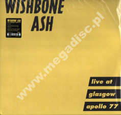 WISHBONE ASH - Live At Glasgow Apollo 77 (2LP) - UK Press