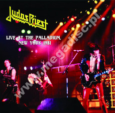 JUDAS PRIEST - Live At The Palladium, New York 1981 - EU Verne Limited Press - POSŁUCHAJ - VERY RARE