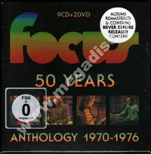 FOCUS - 50 Years: Anthology 1970-1976 (9CD+2DVD) - NL Remastered Edition