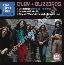 CUBY + BLIZZARDS - First Five + Bonus CD (6CD) - NL Remastered Edition - POSŁUCHAJ
