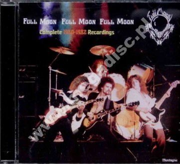FULL MOON - Complete 1980-1982 Recordings - SWE Flawed Gems - POSŁUCHAJ - VERY RARE