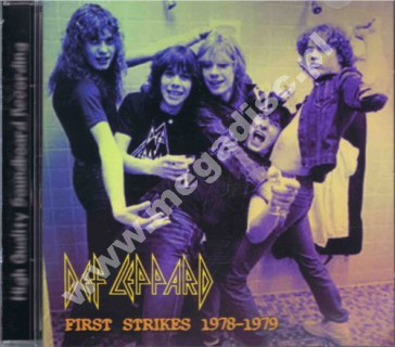 DEF LEPPARD - First Strikes 1978-1979 - FRA On The Air - POSŁUCHAJ
