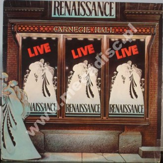 RENAISSANCE - Live At Carnagie Hall (2LP) - UK 1st Press - POSŁUCHAJ