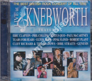 VARIOUS ARTISTS - Live At Knebworth 1990 (2CD) - US Edition