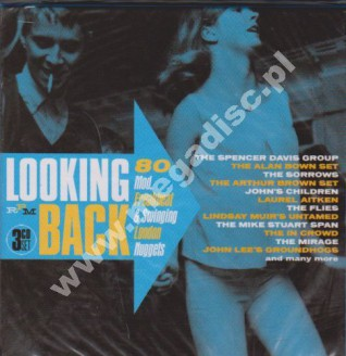 VARIOUS ARTISTS - Looking Back - 80 Mod, Freakbeat & Swinging London Nuggets (3CD BOX) - UK RPM Remastered - POSŁUCHAJ