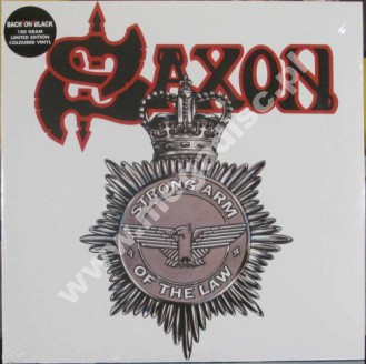 SAXON - Strong Arm Of The Law (2LP) - UK Back On Black Expanded Limited 180g Press - POSŁUCHAJ