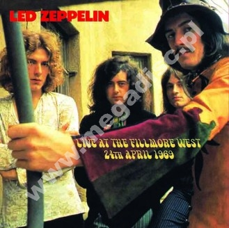 LED ZEPPELIN - Live At The Fillmore West, 24th April 1969 - UK Far Out Limited Press - POSŁUCHAJ