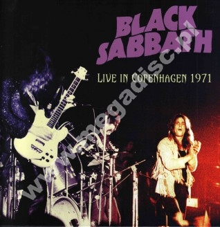BLACK SABBATH - Live In Copenhagen 1971 - EU Dead Man Limited Press - VERY RARE