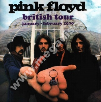 PINK FLOYD - British Tour January - February 1970 - EU Open Mind Limited Press - VERY RARE