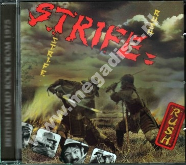 STRIFE - Rush +4 - EU Eclipse Remastered & Expanded - POSŁUCHAJ - VERY RARE