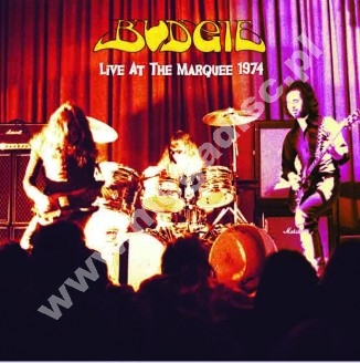 BUDGIE - Live At The Marquee February 1974 - EU Atos Press - POSŁUCHAJ