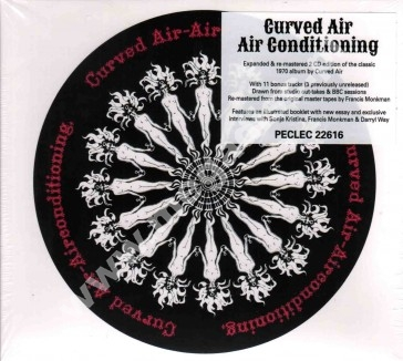 CURVED AIR - Air Conditioning (2CD) - UK Esoteric Remastered - POSŁUCHAJ