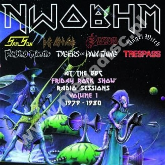 VARIOUS ARTISTS - NWOBHM (New Wave Of British Heavy Metal) At The BBC - 'Friday Rock Show' Volume 1 1980-1982 (2LP) - UK Maida Vale Press - POSŁUCHAJ