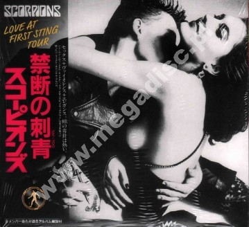 SCORPIONS - Love At First Sting Tour (2CD) - RARE LIMITED