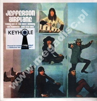JEFFERSON AIRPLAINE - Family Dog At The Great Highway, San Francisco, June 13th 1969 (2LP) - GRE 180g Press - POSŁUCHAJ