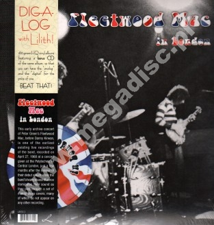 FLEETWOOD MAC - In London (LP+CD) - EU Press - POSŁUCHAJ