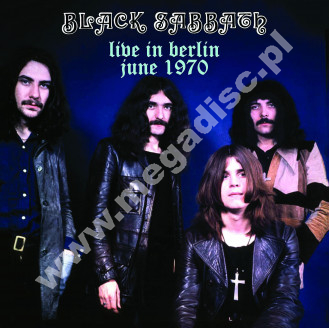 BLACK SABBATH - Live In Berlin June 1970 - EUR Dead Man Limited - POSŁUCHAJ