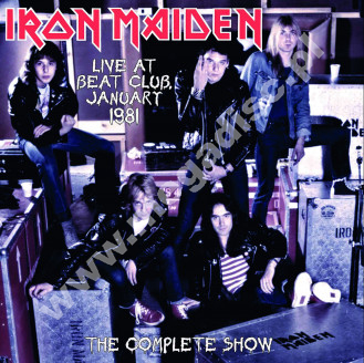 IRON MAIDEN - Live At Beat-Club January 1981 - The Complete Show - EU Dead Man LIMITED Press - POSŁUCHAJ