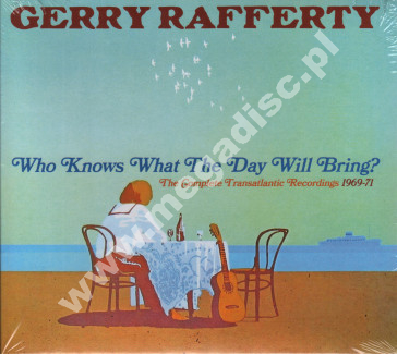 GERRY RAFFERTY - Who Knows What The Day Will Bring? - Complete Transatlantic Recordings 1969-1971 (2CD) - UK Grapefruit Records Expanded Edition - POSŁUCHAJ