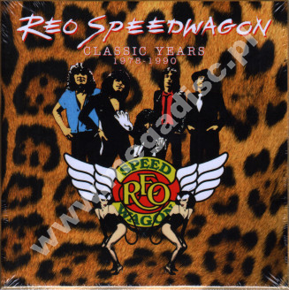 REO SPEEDWAGON - Classic Years 1978-1990 (9CD) - UK Hear No Evil