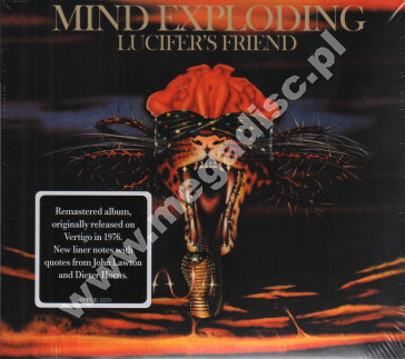 LUCIFER'S FRIEND - Mind Exploding - UK Repertoire Digipack - POSŁUCHAJ