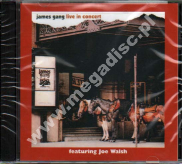 JAMES GANG - Live In Concert - US Edition