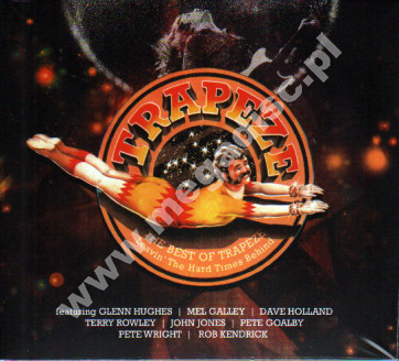 TRAPEZE - Best Of Trapeze - Leavin' The Hard Times Behind (2CD) - UK Purple Records Edition