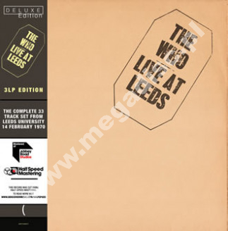 WHO - Live At Leeds (3LP) - EU Abbey Road Half Speed Mastered Deluxe 180g Press - POSŁUCHAJ