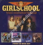GIRLSCHOOL - The Bronze Years 1980-1983: Demolition / Hit And Run / Screaming Blue Murder / Play Dirty - UK Lemon Remastered (4CD BOX) - POSŁUCHAJ