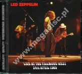 LED ZEPPELIN - Live At The Fillmore West 24th April 1969 - SPA Top Gear RARE Limited - POSŁUCHAJ