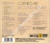 CURVED AIR - Second Album (CD + DVD) - UK Esoteric Remastered Expanded