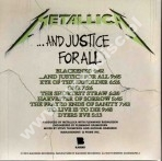 METALLICA - ...And Justice For All - Remastered Card Sleeve