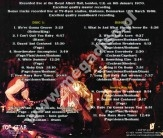 LED ZEPPELIN - Live At The Royal Albert Hall, January 1970 (2CD) - SPA Top Gear Limited Press - POSŁUCHAJ