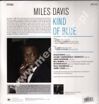 MILES DAVIS - Kind Of Blue - EU Jazz Images 180g Press - POSŁUCHAJ