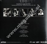 UFO - Hardrock Legends Vol. 1 - Live At Rockpalast, November 1980 - UK Back On Black Limited Press - POSŁUCHAJ