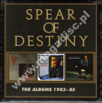 SPEAR OF DESTINY - Albums 1983-85 (3CD) - UK Cherry Red Expanded Edition - POSŁUCHAJ