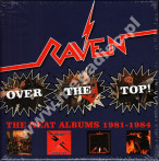 RAVEN - Over The Top! - Neat Albums 1981-1984 (4CD) - UK Hear No Evil Expanded Edition - POSŁUCHAJ