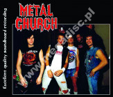 METAL CHURCH - Live In Mounds View 1985 +3 - EU On The Air LIMITED - POSŁUCHAJ - VERY RARE