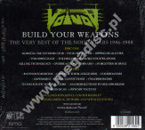 VOIVOD - Build Your Weapons - Very Best Of The Noise Years 1986-1988 (2CD) - EU Edition - POSŁUCHAJ